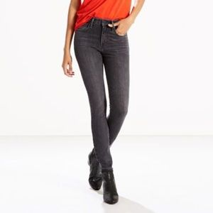 Levi's 721 high rise skinny jean. Washed once